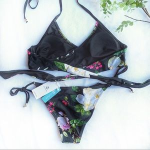 306489a3bf87c Cupshe Swim | Lotus Pond Bikini | Poshmark